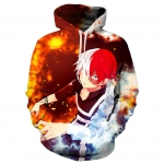 Anime Halloween Costumes Todoroki Shoto