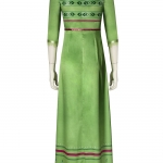 Frozen 2 Costumes Anna Green Dress Cosplay - Customized