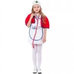 Doctor Professional Girl Costume