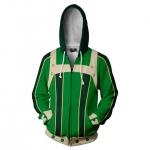 Anime Cosplay Costumes My Hero Academia Green Coat