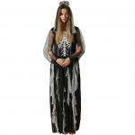 Scary Halloween Costumes Skeleton Queen Dress