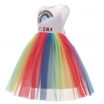 Anime Costumes for Halloween Rainbow Dress