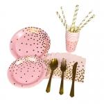 Tableware Pink Bronzing Kit
