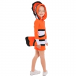 Marine Themed Clownfish Family Costume