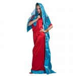 Women Halloween Costumes Bollywood Star Dress