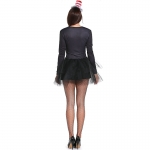 Women  Sexy Black Cat Girl Magician Costumes