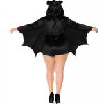 Family Halloween Costumes Black Bat Vampire Style