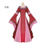 Renaissance Costumes For Female Flared Sleeves