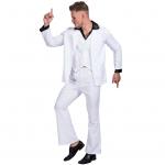 Men Halloween Costumes Celebrity Dance King Suit