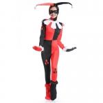 Halloween Costumes Harley Quinn Clown Circus Dress