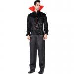 Men Scary Halloween Vampire Costumes Chinese Style