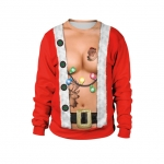 Men Halloween Costumes Christmas Sexy Bare Chest