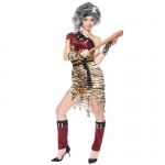 Indian Costume for Women Leopard Print Suit