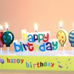 Birthdays Decoration Cartoon Cake Candle