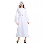 Women Halloween Costumes Star Wars Princess Leia Dress