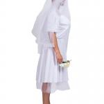 Men Halloween Costumes Reverse String Wedding Dress