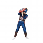 Captain America Muscle Suit Kids Costume