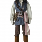 Pirates of the Caribbean Costumes Captain Jack - Customized