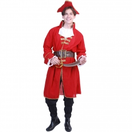 Men Halloween Costumes Pirate Robe Clothes