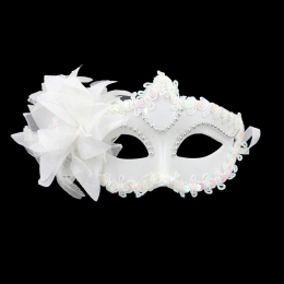 Halloween Decorations Lace Crystal Mask