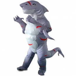 Inflatable Costumes Fitness Shark