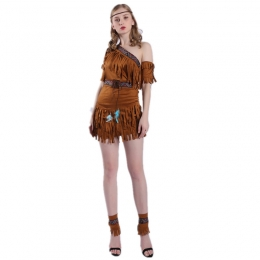 Halloween Costumes Indian Tassel Indigenous Style