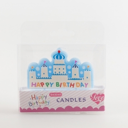 Birthdays Decoration Ice Snow Castle Candle