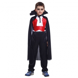 Boys Vampire Costume Noble Suit