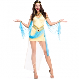 Ancient Egyptian Pharaoh Coustomes Queen Princess Dress