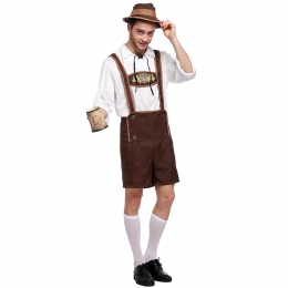 German Oktoberfest Men Costume