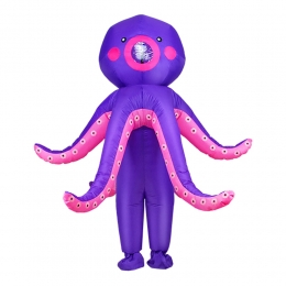 Inflatable Halloween Costumes Squid Octopus