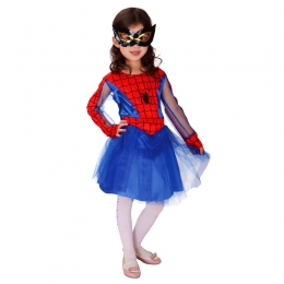 Spiderman Costume Tights Girls Dress