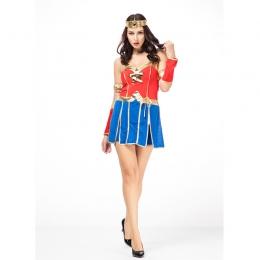 Halloween Wonder Women Costumes Superwomen Clothes
