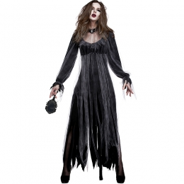 Horror Ghost Bride Zombie Women Costume