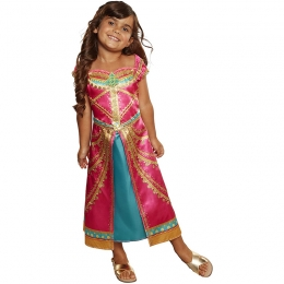 Aladdin Magic Lamp Jasmine Princess Kids Costume