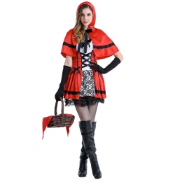 Fairy Tale Theme Halloween Costumes Little Red Riding Hood Same Style