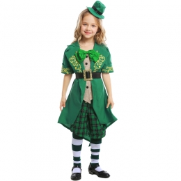 St. Patrick's Day Irish Leprechaun Girl Costume