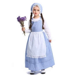 European Pastoral Farm Girl Costume