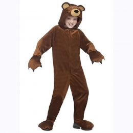 Animal Costumes for Kids Brown Bear Cosplay