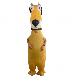 Inflatable Costumes Big Yellow Dog