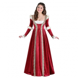 Disney Women Halloween Costumes Palace Dress Queen Style