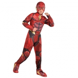 Deluxe Justice League Flash Kids Boy Costume