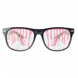 Halloween Makeup Blood Stained Glasses