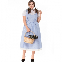 Women Halloween Plus Size Costumes Cotton Material
