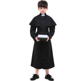 Church Priest  Kids Costume