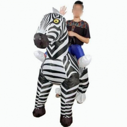 Inflatable Costumes For Adults Zebra