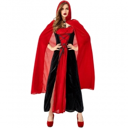 Little Red Riding Hood Costume Queen Adult