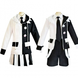 Halloween Costumes Black And White Bear Cos Suit