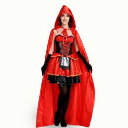 Sexy Halloween Costumes Red Style Witch