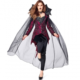 Scary Halloween Costumes Vampire Queen Devil Style